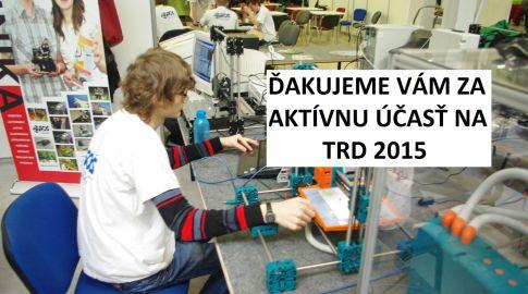 Robotická súťaž TRD 2015
