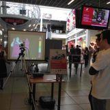 Prezentácia robotov v Laugaríciu